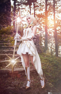 Timber Cosplay as Lux
