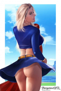 Supergirl from Fernando Neves Rocha