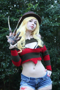 Cauldronoframen as Freddy Krueger