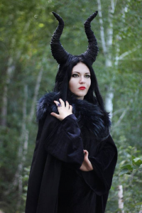 Mysteria Violent as Maleficent