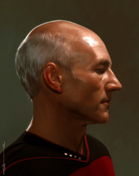 Jean-Luc Picard from Euclase