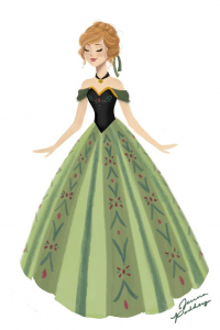 Anna of Arendelle from Jpaddey