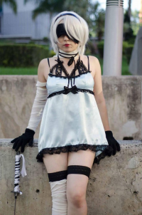 Stephies Costumes as 2B