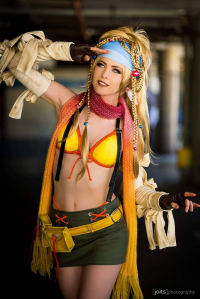 Maid Of Might Cosplay as Rikku