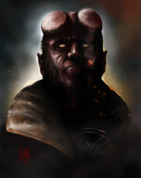 Hellboy from Jed Thomas
