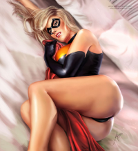 Ms. Marvel from Arionart