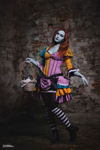 Unknown Female Artist as Sally Skellington