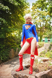 Musable as Supergirl