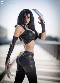 Crystal Cosplay & Music as X-23