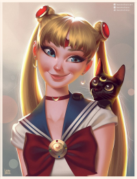 Sailor Moon from Leandrofranci
