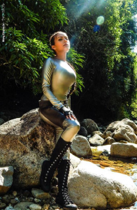 Wong Cosplay br as Lara Croft