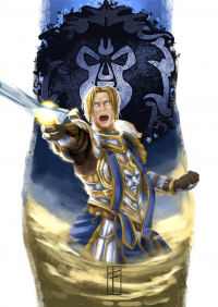 Anduin Wrynn from Fthiers-escorpion