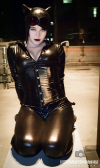Agent Vexysr as Catwoman