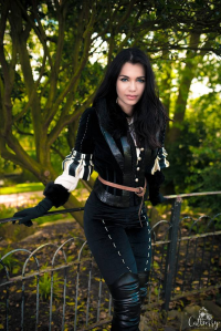 Ash Cosplay as Yennefer