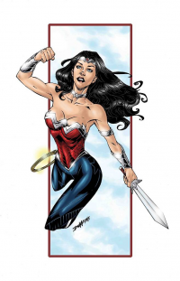 Wonder Woman from Rob Dumo