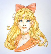 Sailor Venus from Charity W.