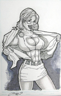 Power Girl von Andrew Amiya