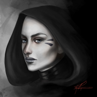 Asajj Ventress from Kirsty Carter
