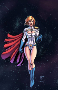 Power Girl from Jeremiah Skipper