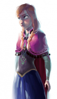 Anna of Arendelle from Dykah