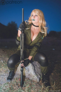 Azulette Cosplay as Sniper Wolf
