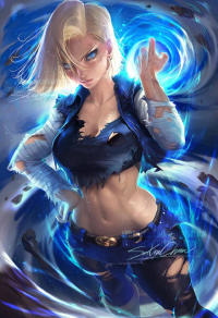 Android 18 from Sakimi Chan