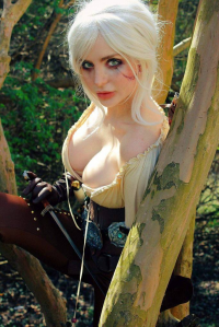 Delanie Frances as Ciri