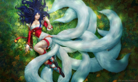 Ahri from Alex Negrea