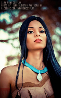 Sara Moni Cosplay as Pocahontas