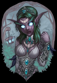 Tyrande Whisperwind from Ajamarie Abad