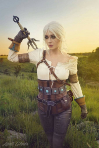 April Gloria as Ciri