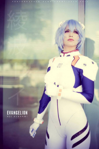 Lego Luthien as Rei Ayanami