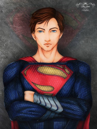 Superman from Sika-chan