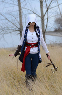 Allure Cosplay as Conner Kenway