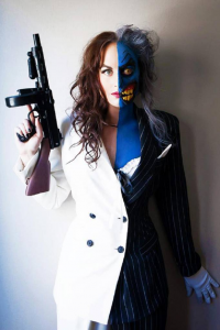 Meagan Marie as Two Face