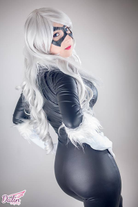 Dalin Cosplay as Black Cat