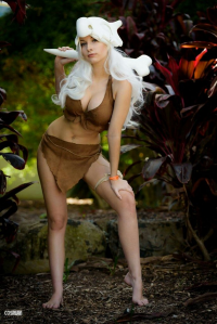 Beke Cosplay as Cubone