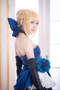Angie0_0 as Saber