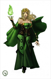 Amora the Enchantress from Andrew Sebastian Kwan
