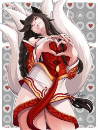 Ahri from Lily Tran
