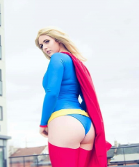 PureLight Cosplay as Supergirl