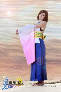 Mysa Cosplay as Yuna