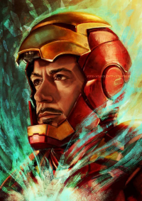 Iron Man from Léa Chaillaud