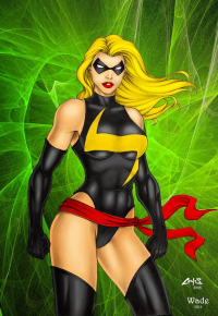 Ms. Marvel from Jeff Wade