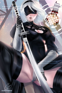 2B from Customwaifus