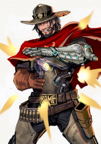 McCree from Mstrmagnolia