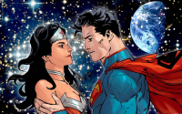 Superman, Wonder Woman from Xionice