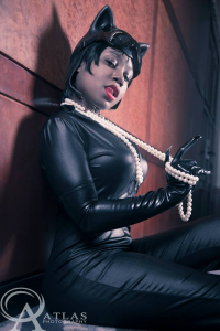 Bree the V as Catwoman