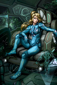 Samus Aran from Brandon Dunn