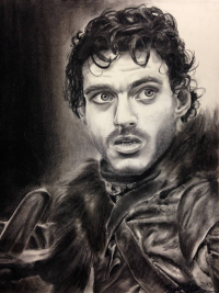 Robb Stark from Taylor Thebodeau Art